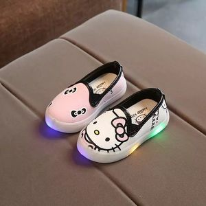 Other - Super Cute Hello Kitty Light Up Sneakers